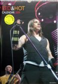 Red Hot Chili Peppers - 2009 Calendar with Stickers